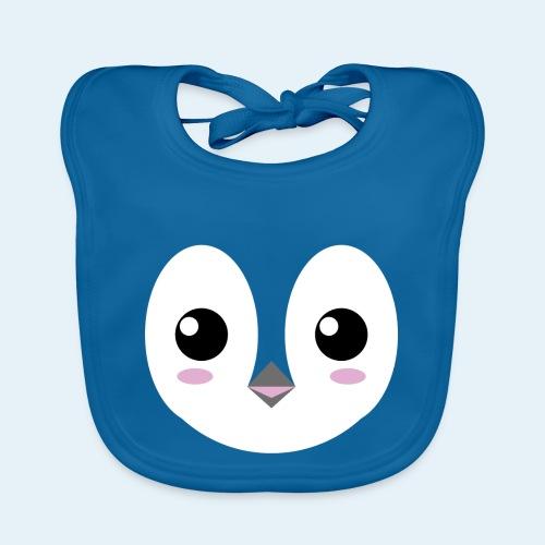 Pingüino bebé (Cachorros) - Babero de algodón orgánico para bebés