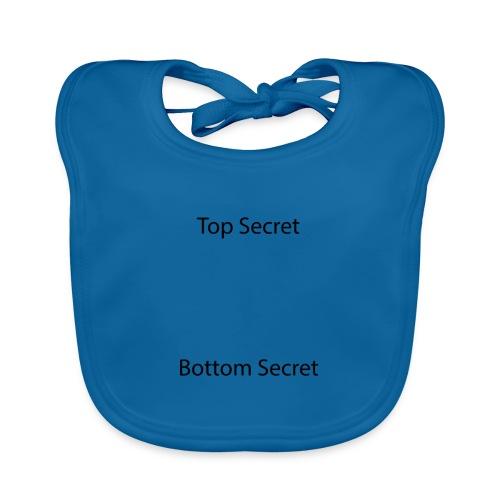 Top Secret / Bottom Secret - Organic Baby Bibs