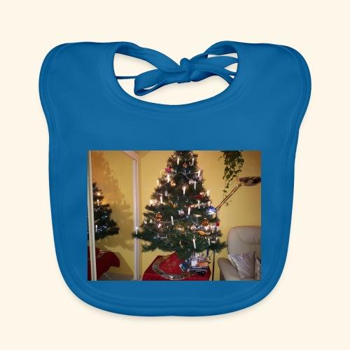 Weihnachtsbaum - Baby Bio-Lätzchen
