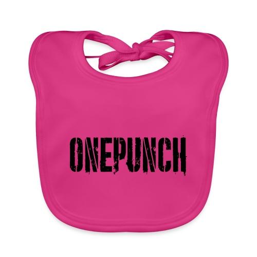 Boxing Boxing Martial Arts mma tshirt one punch - Baby Organic Bib