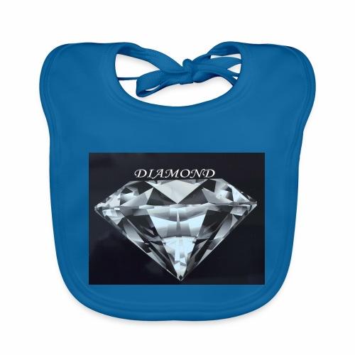 Diamond - Ekologisk babyhaklapp