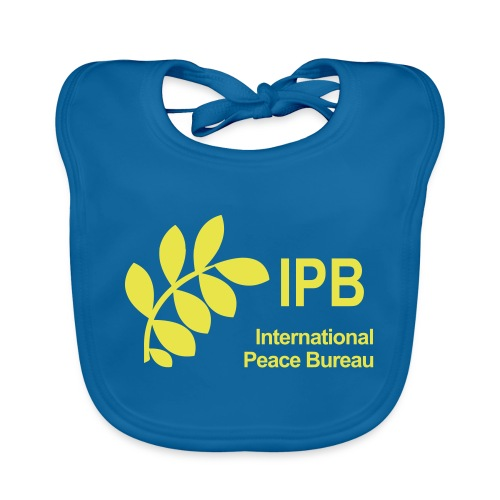 International Peace Bureau IPB Logo - Organic Baby Bibs