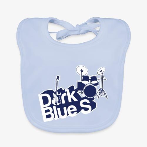 DarkBlueS outline gif - Baby Organic Bib