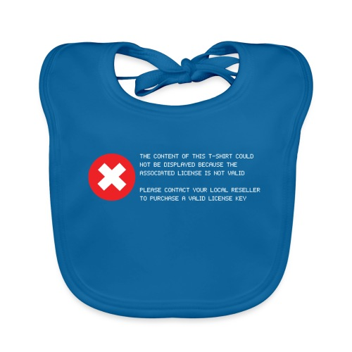 T-shirt Error - Bavaglino