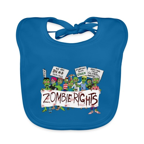 Zombie Rights Demo - Organic Baby Bibs