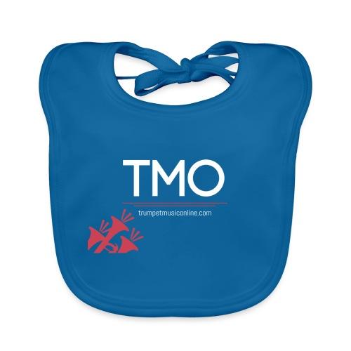 TMO official logo white - Organic Baby Bibs