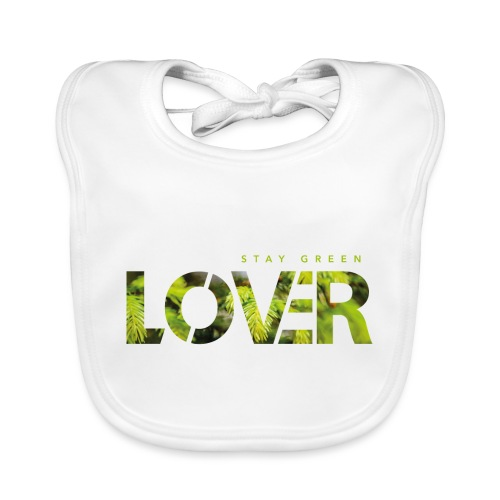 Stay Green Lover - Bavaglino ecologico per neonato