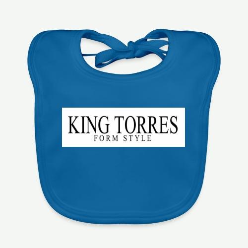 king torres - Babero de algodón orgánico para bebés