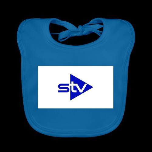Skirä television - Ekologisk babyhaklapp