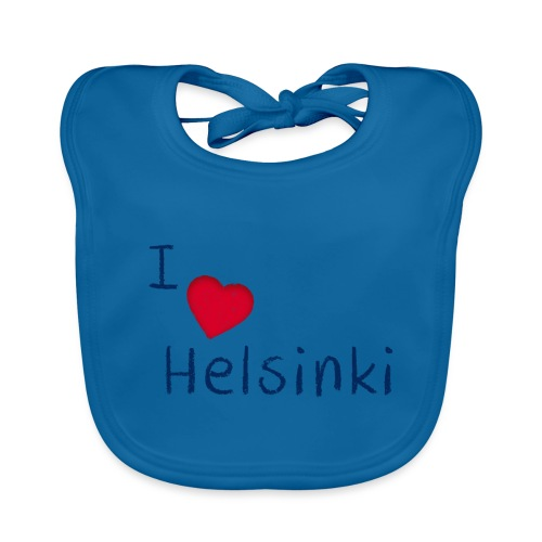 I Love Helsinki - Vauvan luomuruokalappu