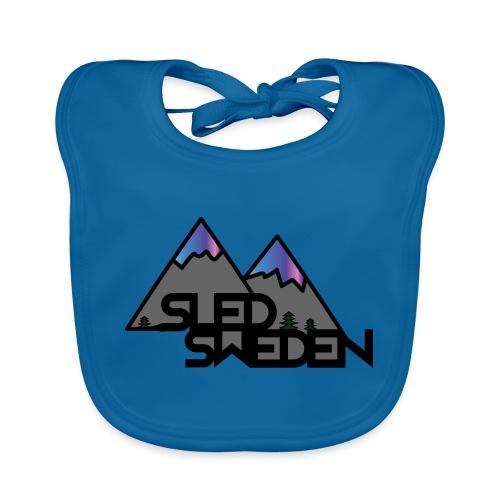 SledSweden Official Logo Special Edition - Ekologisk babyhaklapp