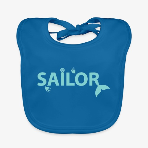 Sailor Series Cushion - Baby Organic Bib