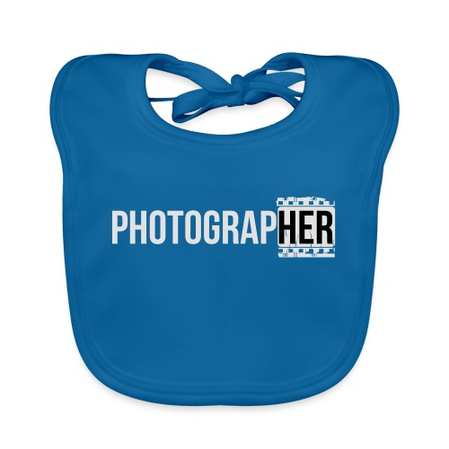 Photographing-her - Organic Baby Bibs