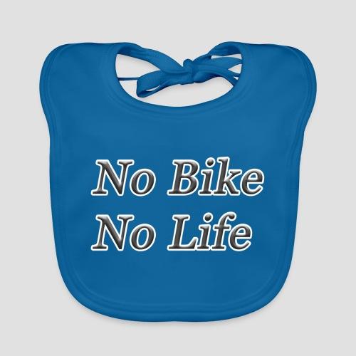 No Bike No Life - Ekologisk babyhaklapp