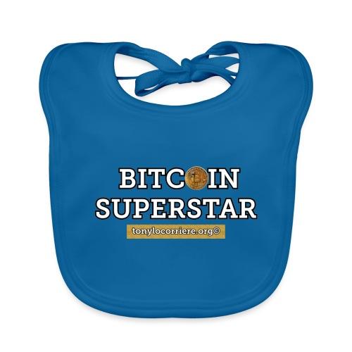 bitcoin superstar - Bavaglino ecologico per neonato