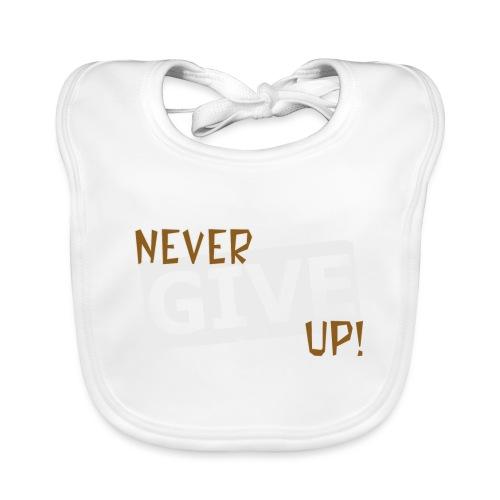 Never Give Up - Vauvan ruokalappu