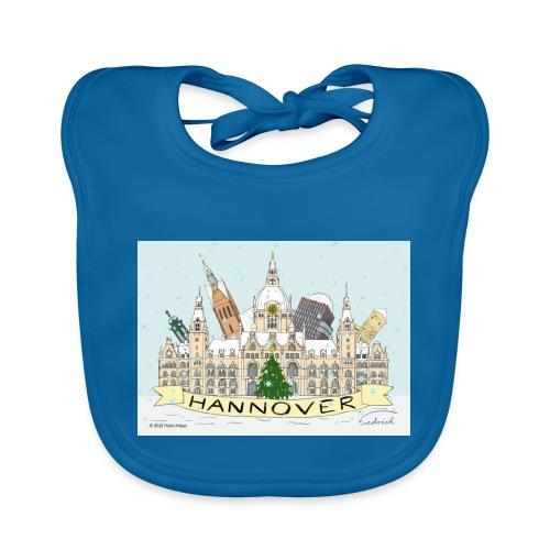 Hannover Rathaus Sehenswürdigkeiten Souvenir - Baby Bio-Lätzchen