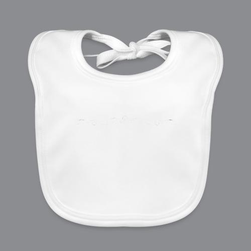 Rotzbua Weiß - Baby Bio-Lätzchen