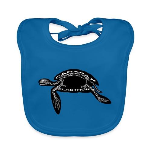 zeeschildpad - Bio-slabbetje voor baby's