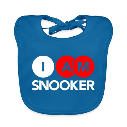 I AM SNOOKER - Baby Organic Bib