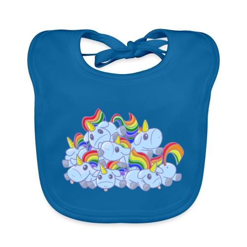 Moar unicorns! - Bavaglino ecologico per neonato