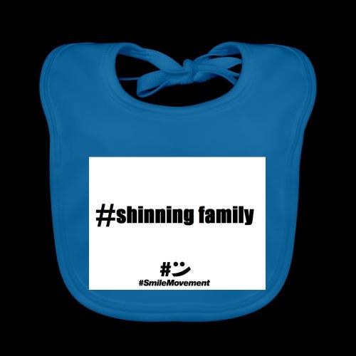 shinning family - Bavoir bio Bébé