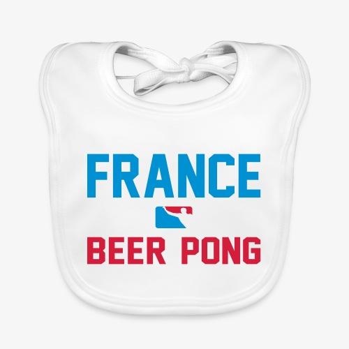 France Beer Pong - Baby Bio-Lätzchen