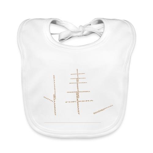 EZS T shirt 2013 Back - Bio-slabbetje voor baby's