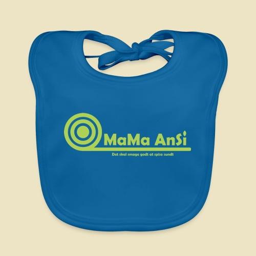 MaMa AnSi G logo - Hagesmække af økologisk bomuld