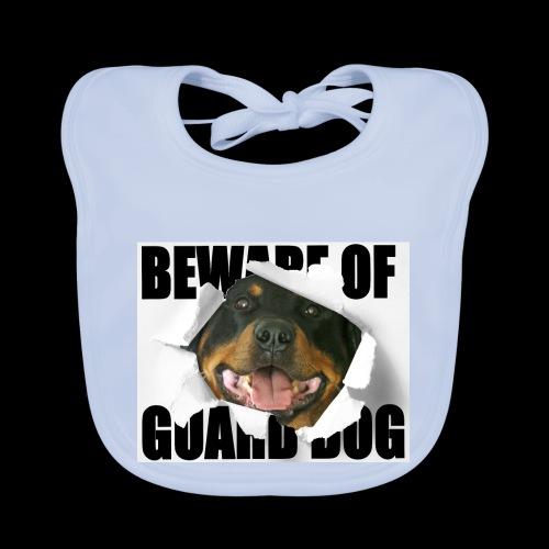 beware of guard dog - Baby Organic Bib