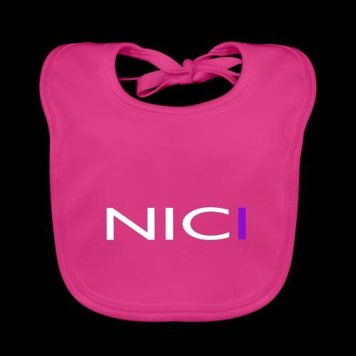 NICI logo WHITE - Vauvan ruokalappu