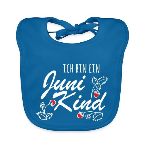 Juni Geburtstag Kind Shirt lustiges Geschenk - Baby Bio-Lätzchen