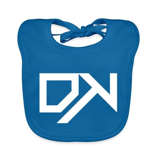 DewKee Logo Cap White - Baby Organic Bib