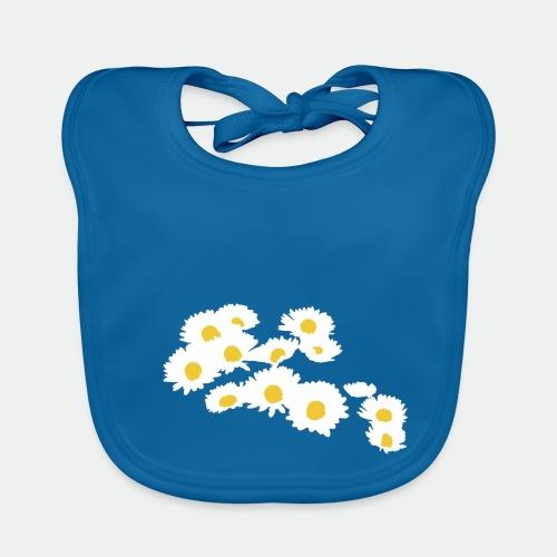 Spring Season Daisies - Baby Organic Bib