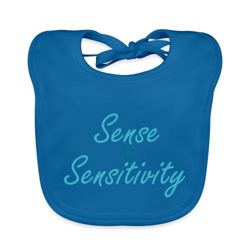 Sense & Sensitivity men's t-shirt - Baby Organic Bib