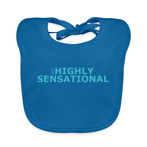 Highly sensational men's t-shirt - Baby Organic Bib
