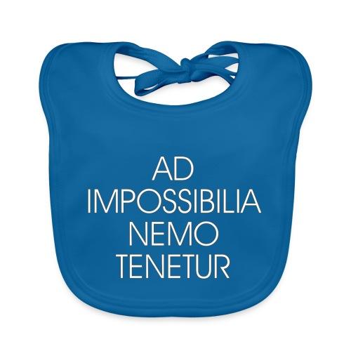 Ad Impossibilia Nemo Tenetur t-shirt avvocato - Baby Organic Bib