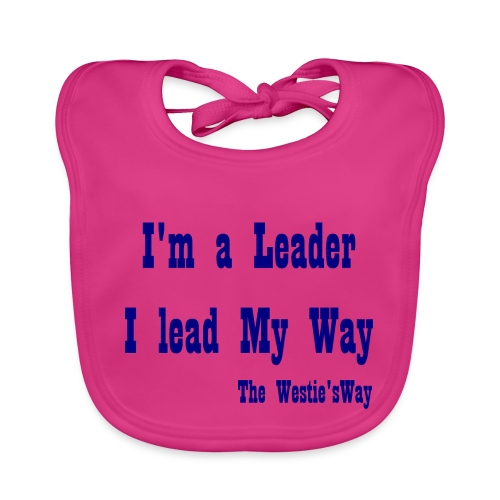 I lead My Way Blue - Ekologiczny śliniaczek