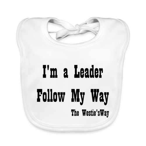 Follow My Way Black - Ekologiczny śliniaczek