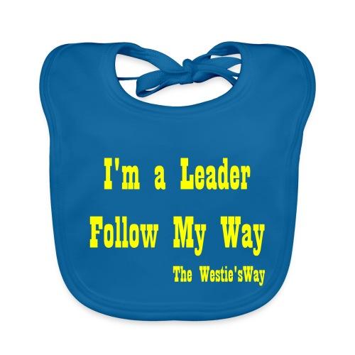 Follow My Way Yellow - Ekologiczny śliniaczek