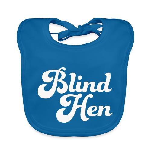 Blind Hen - Logo T-shirt, slim fit, black - Organic Baby Bibs