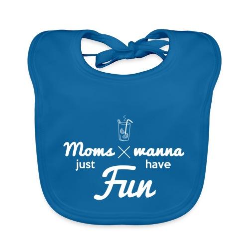 Sweat pour Maman Fun - Bavoir bio Bébé