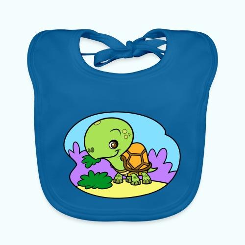 Tiny Turtle - Baby Organic Bib