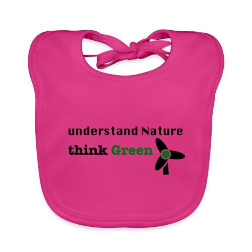 Understand Nature. Think Green! - Baby Organic Bib