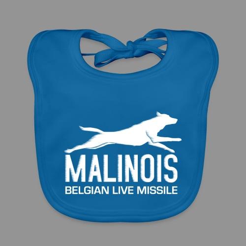 Belgian shepherd Malinois - Baby Organic Bib