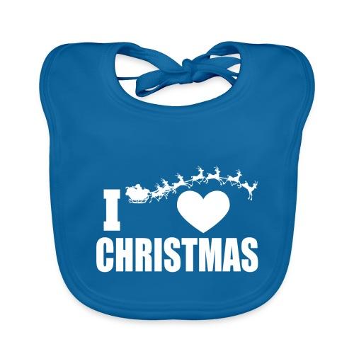 I Love Christmas Heart Natale - Bavaglino
