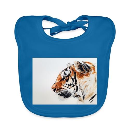 Tigre - Babero de algodón orgánico para bebés