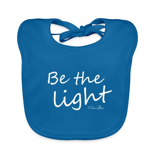 Be the light - Bavoir bio Bébé