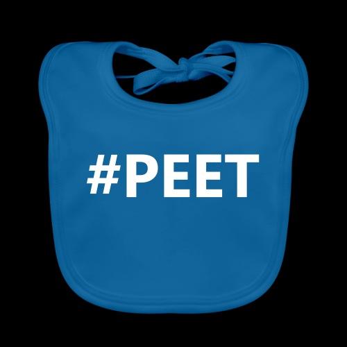 #PEET NO BOX - Bio-slabbetje voor baby's