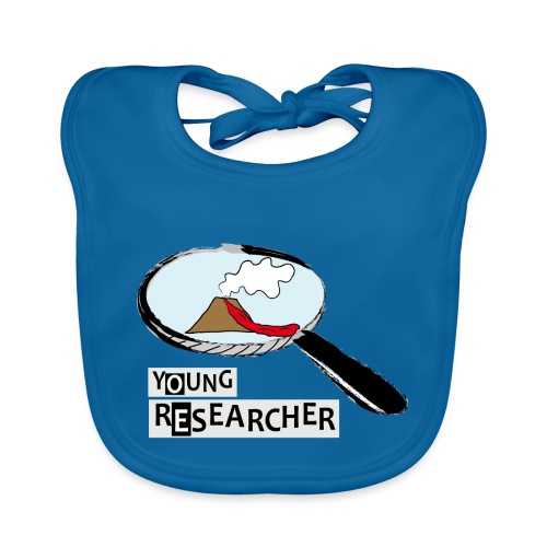 Young Researcher Volcano Wissenschaft - Baby Bio-Lätzchen